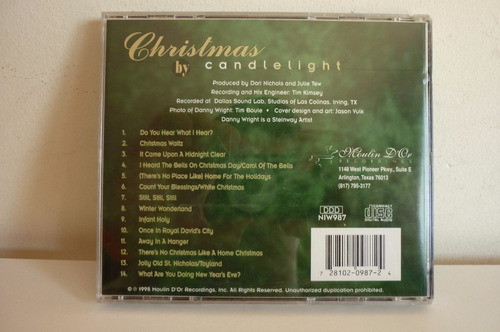 danny wright christmas by candlight musica navidadeña