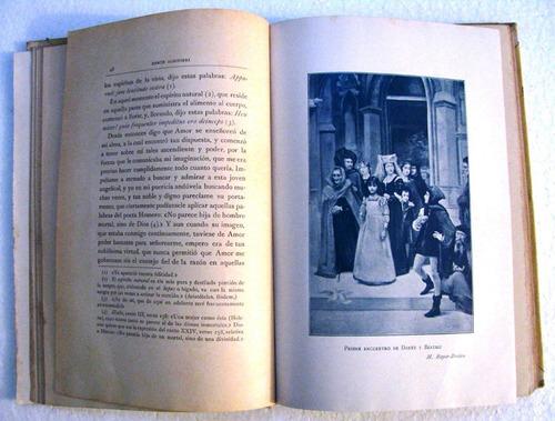 dante alighieri la vida nueva montaner y simon año 1912