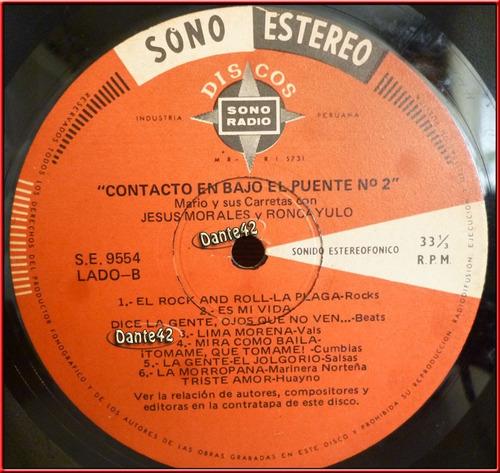 dante42 disco 33 vinilo lp longplay contacto bajo puente nº2
