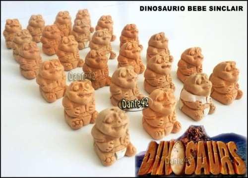 dante42 pack 24 dinosaurio bebe sinclair miniaturas ceramica