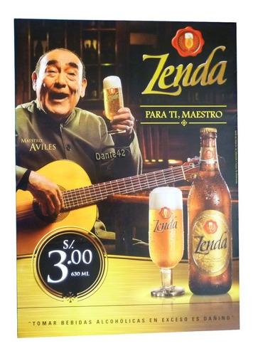 dante42 poster publicidad cerveza zenda 2008