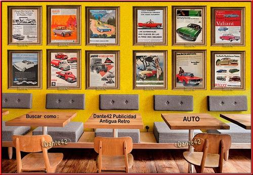 dante42 publicidad antigua retro auto chevrolet 1961