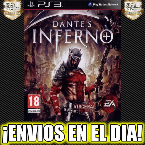 dante's inferno ps3 juego playstation 3 stock