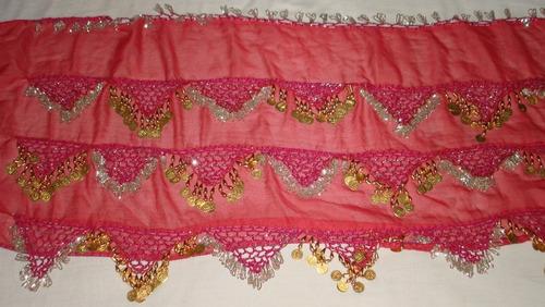 danza árabe caderín rosa nuevo  bellydance disfraz odalisca