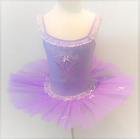 9e8235cff Danza Ballet Barbie Princesa Vestido Lila Violeta Tutu Malla