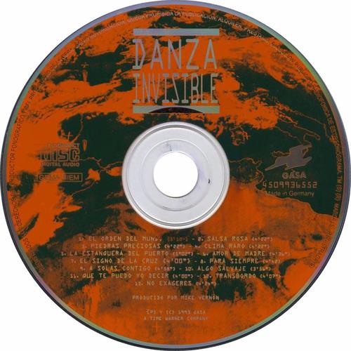 danza invicible cd clima raro rock en tu idioma importado