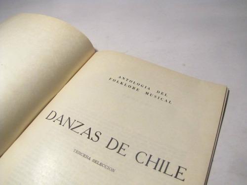 danzas de chile inst. investigaciones musicales