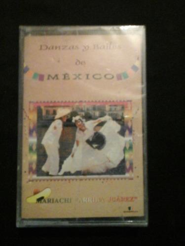 danzas y bailes de mexico cassete nuevo