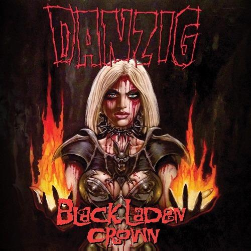 danzig black laden crown cd nuevo