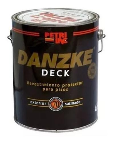 danzke deck protector pisos de madera petrilac 4l pintumm