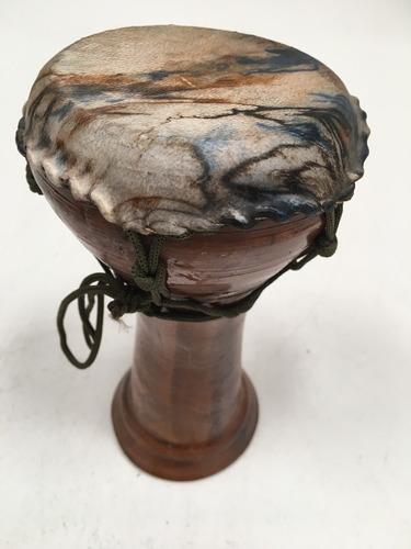 darbuka / derbake cerámica parche de cuero