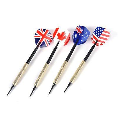dardos de punta blanda de 12pcs de dartboard electrónico con