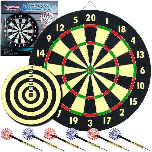 dardos,marca mundial cuarto juego dartboard set con 6 da..