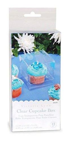 darice 12 piece cupcake box 35 por 35 por 35 borrar