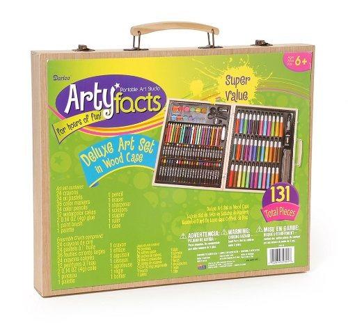 darice 131 piezas de primera calidad conjunto del arte con
