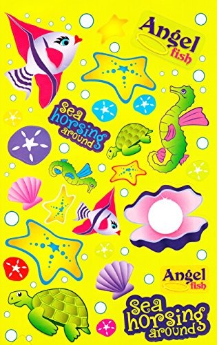 Darice Under The Sea Sticker Book 458 stickers