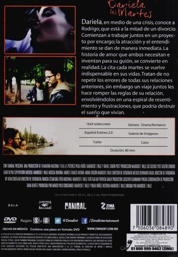 dariela los martes paola nuñez pelicula dvd