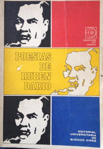 dario, ruben - poesias de ruben dario, eudeba, buenos aires,