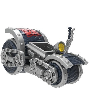 dark barrel blaster - skylanders super chargers vehiculo car