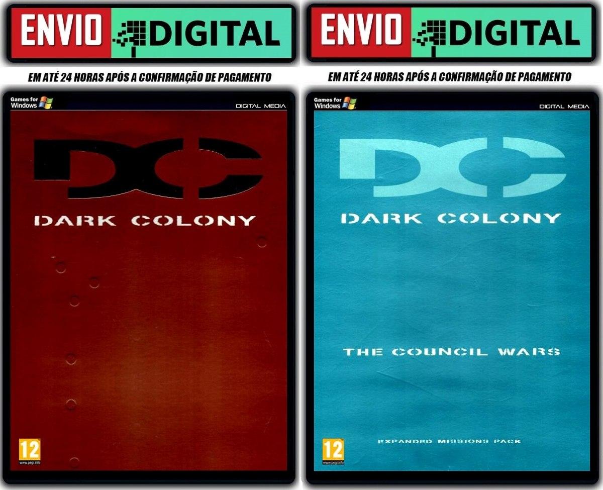 Dark Colony + Expansão The Council Wars - Pc - Envio Digital