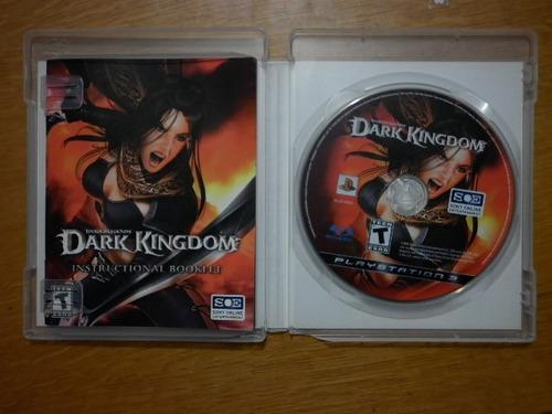 dark kingdom - para play station 3