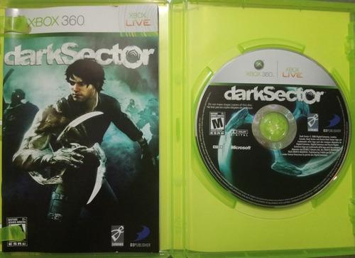 dark sector clásico de xbox 360 óptimas condiciones