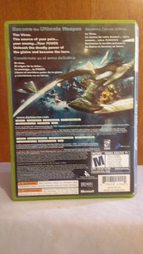 dark sector (con manual) xbox 360 od.st