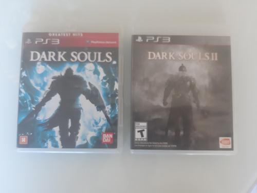 dark souls 1 / dark souls 2 ps3 midia fisica