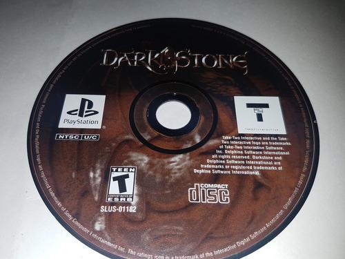 dark stone playstation (cementerio de los videojuegos retro)