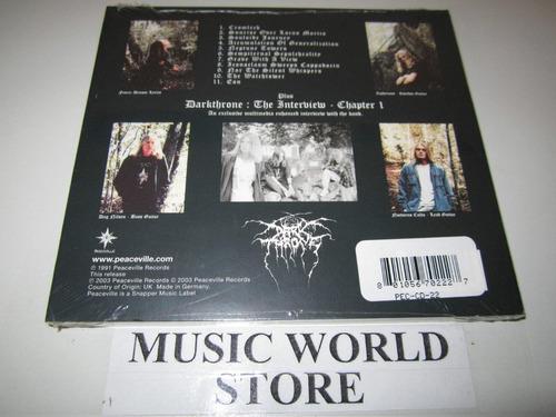 dark throne-soulside journey cd press germany. nuevo sellado