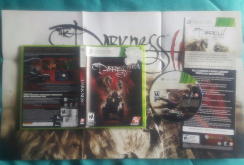 darkness 2 limited edition - con afiche  / xbox 360 usa 17