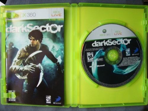 darksector       x-box 360