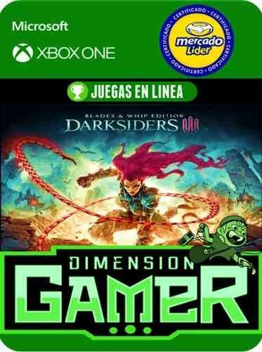 darksiders 3 blades and whip xbox one modo local + en linea