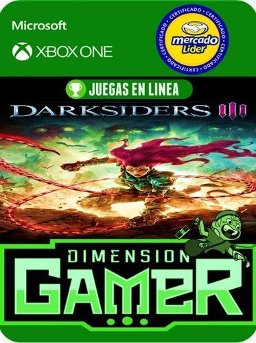 darksiders 3 xbox one modo local + en linea