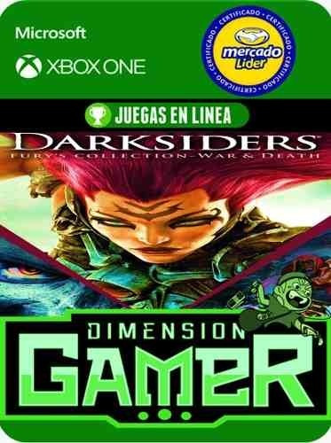 darksiders fury collection - xbox one modo local + en linea