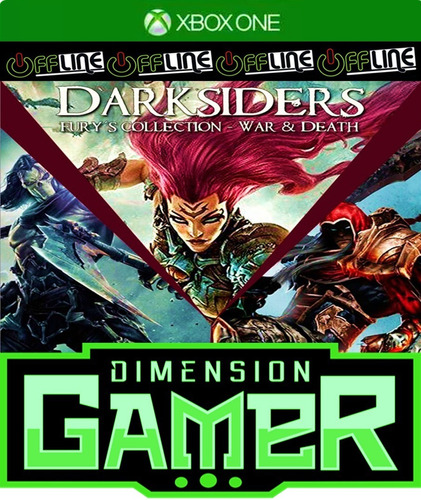 darksiders fury collection xbox one no codigo off-line