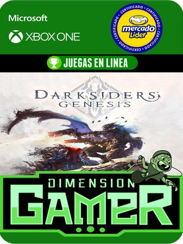 darksiders genesis - xbox one modo local + en linea