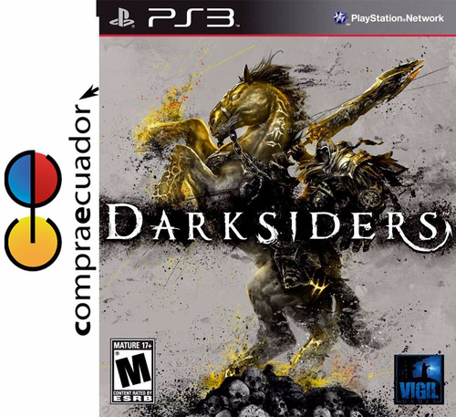 darksiders ps3 disco físico original sellado nuevo ps3