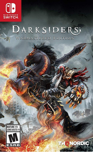 darksiders warmastered edition switch - sellado*
