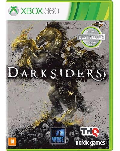 darksiders xbox 360 jogo lacrado original mídia física