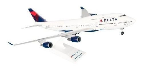 daron skymarks delta 747-400 kit de construcción de modelo