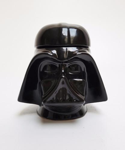 darth vader frasco galletitero ceramica star wars
