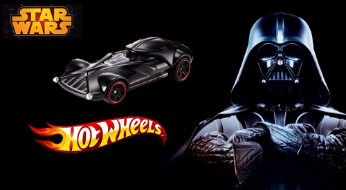darth vader - hot wheels  star wars 2015