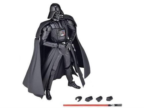 darth vader, revoltech no 001, star wars exclusivo, em5