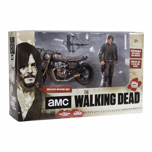 Daryl dixon com moto the walking dead mcfarlane toys - Livre de poche walking dead ...