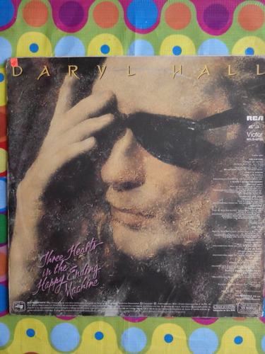 daryl hall lp three hearts in the happy ending machine 1988