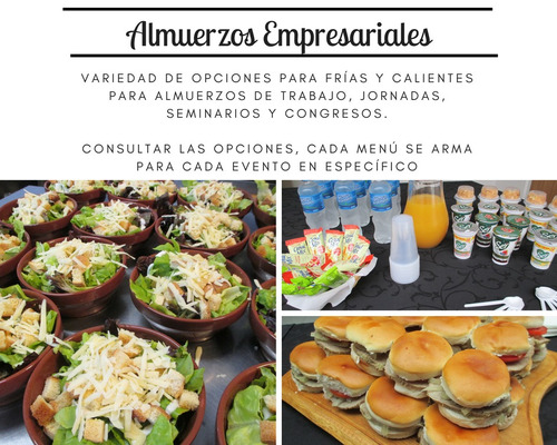 das catering, coffee break, servicio de cafe, almuerzos.
