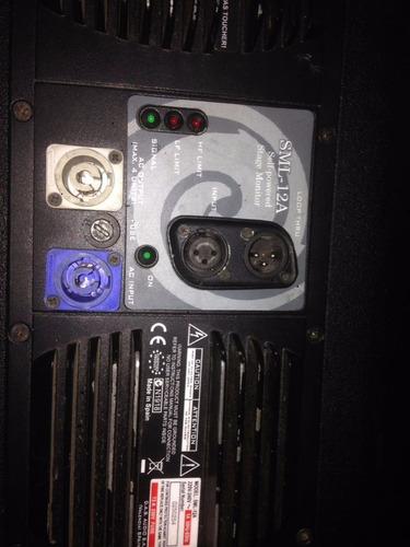 das sml15a monitor escenario autoamplificado caja activa