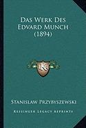 das werk des edvard munch (1894), stanislaw przybyszewski