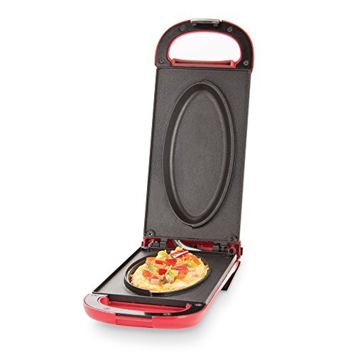 dash omelette maker con placas antiadherentes dobles perfect